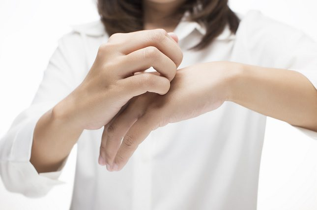 El picor significa que la piel se siente amenazada