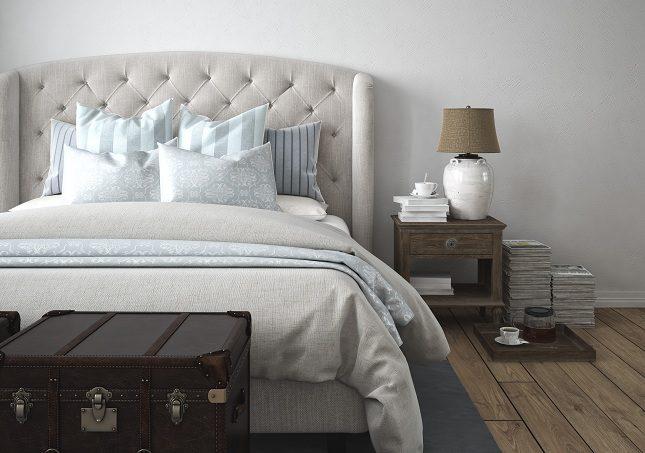 El dormitorio es una zona que debe ser destinada para el descanso