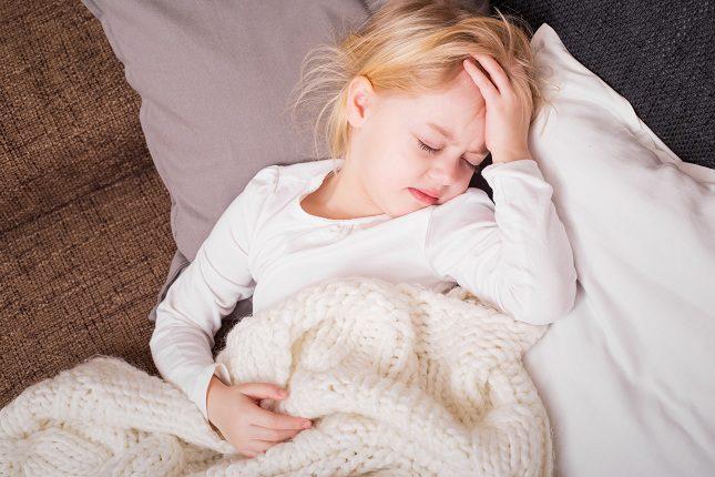 Los niños al igual que los adultos pueden sufrir dolores de cabeza