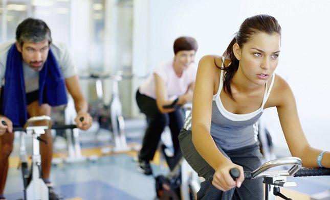 El spinning trabaja los grupos musculares que hay en las piernas