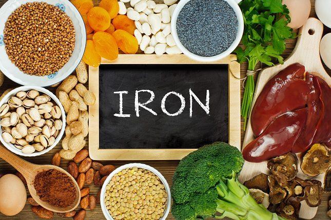 Llevar una alimentación rica en hierro es muy importante