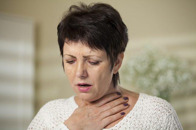 El vapor también puede resultar beneficioso para combatir la tos seca