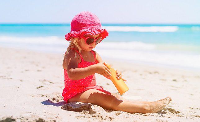 La piel de los niños es mucho más sensible que la de los adultos