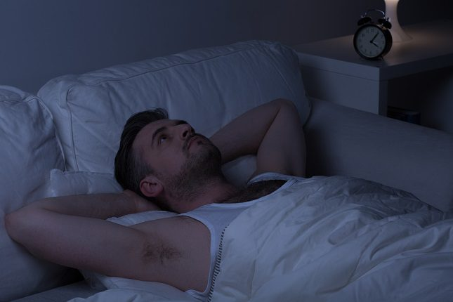 Las emociones reprimidas pueden hacer que no puedas descansar bien por las noches