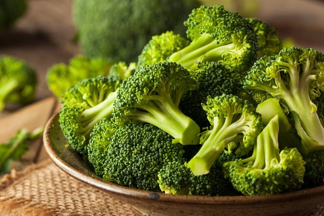 El brócoli es rico en fibra, vitamina C, potasio, B6 y vitamina A