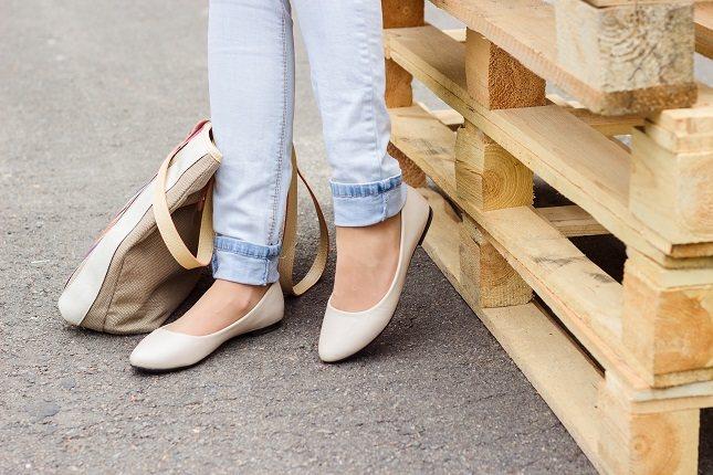 En Japón las personas cuando llegan a su casa se quitan los zapatos y los dejan en la entrada
