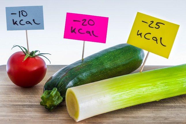 Una vez que sepas cuántas calorías necesita, simplemente cuente la cantidad de calorías en cada alimento que consume
