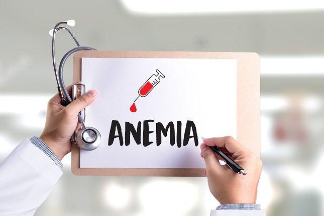 Cuando se tiene una deficiencia de B12 se produce una anemia megaloblástica