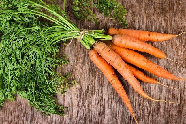 La zanahoria es la reina del betacaroteno