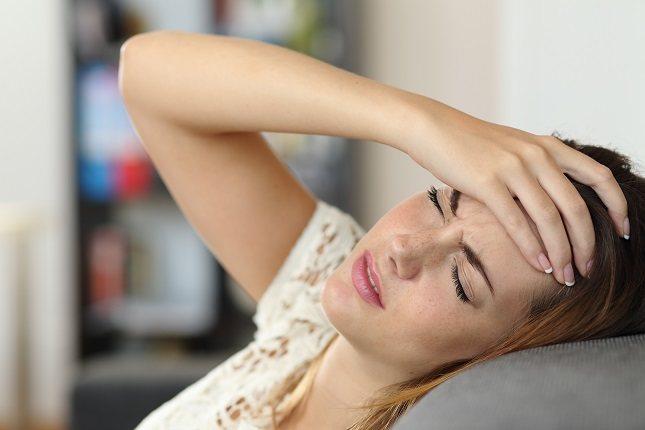 La acumulación de moco genera dolores de cabeza intensos