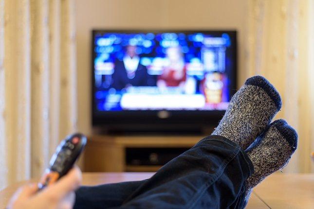 Si estás sentado y mirando televisión, no te sucederá nada nuevo o emocionante