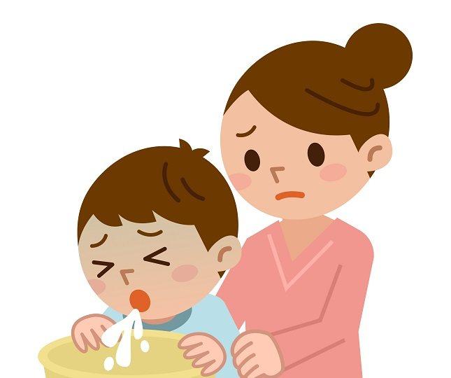 causas de las nauseas en niños