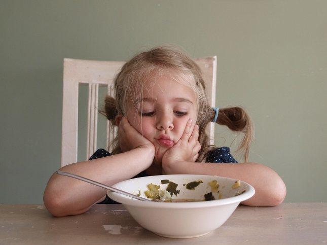 Quizá tu hijo no quiera comer lo que tiene en el plato