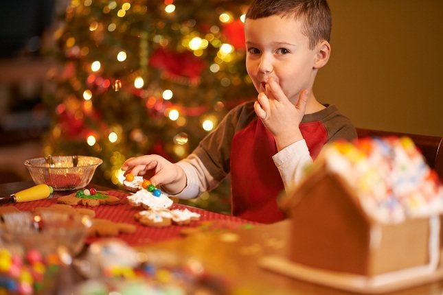 Tratar de que sea una Navidad feliz, sana y saludable puede ser todo un desafío
