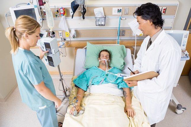 El coma inducido se practica cuando el paciente presenta un tipo de lesión en la zona cerebral