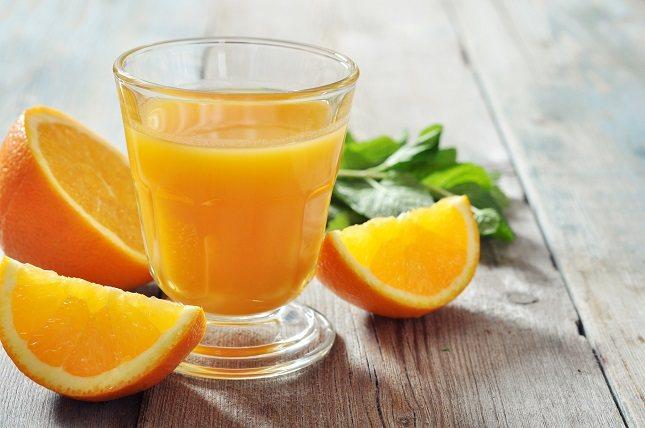 Las naranjas son buenas para tu visión porque son una excelente fuente de vitamina C