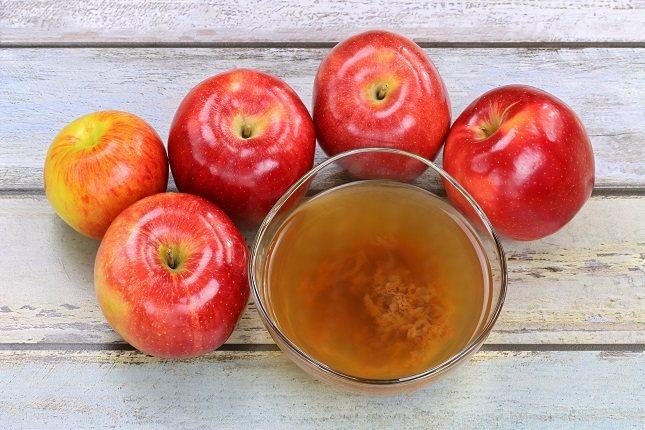 El vinagre de sidra de manzana tiene muchos beneficios
