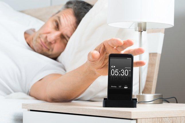 Tu teléfono puede interferir en tu sueño