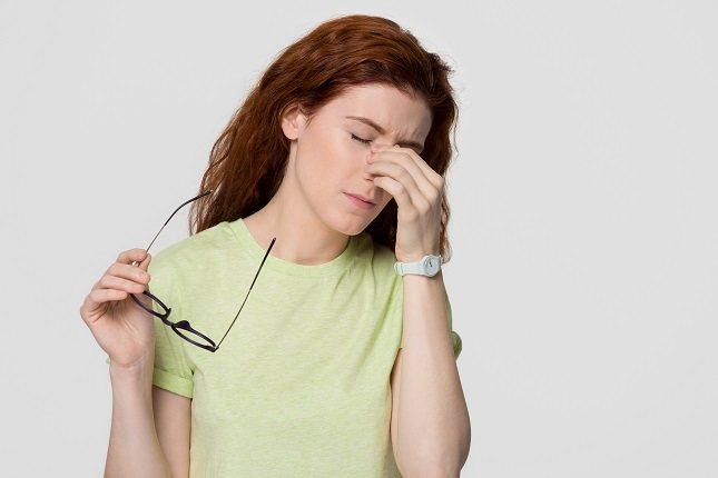 La causa habitual por la que la nariz se reseca es por el exceso de moco