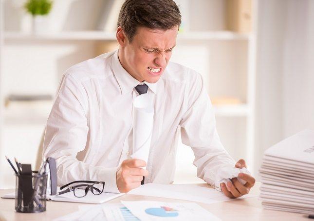 La ira desproporcionada es más que el mal humor ocasional o la despreocupación de una persona