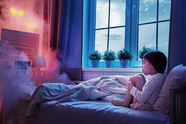 Las pesadillas y los terrores nocturnos son comunes en los niños pequeños