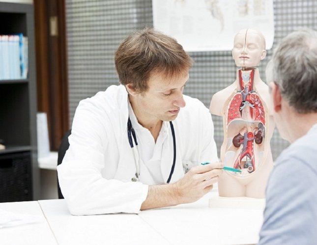 La próstata es parte del sistema reproductor masculino