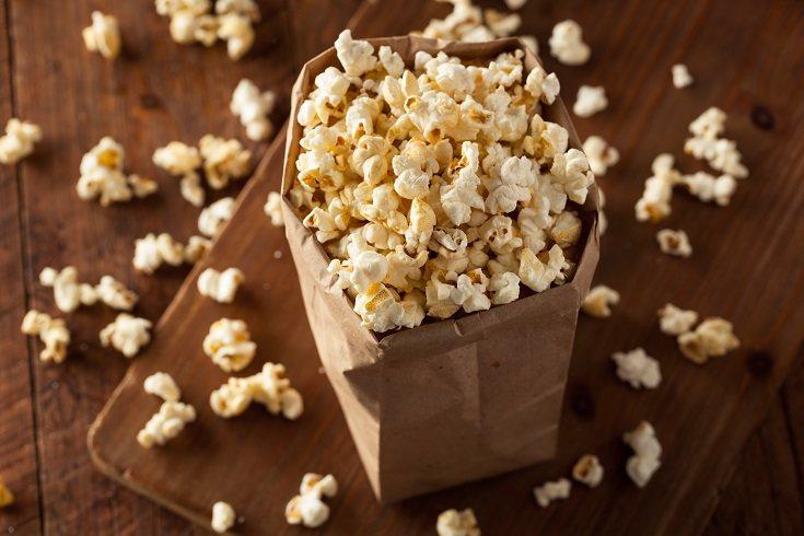Las palomitas de maíz proporcionan una alternativa nutritiva de granos integrales