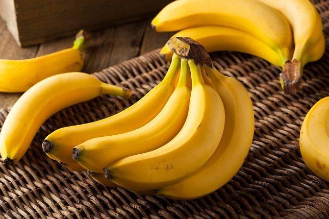 Los electrolitos en los plátanos, protegen contra la deshidratación