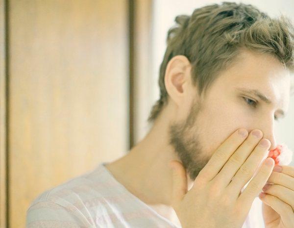 Si el sangrado se produce en la zona cercana a las fosas nasales se denomina posterior