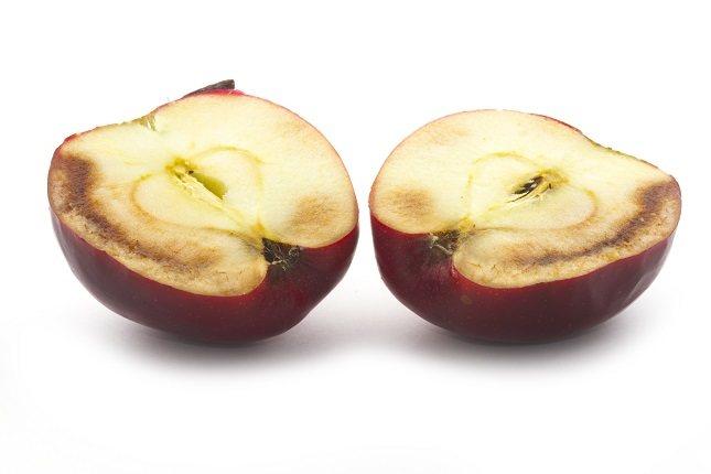 La fruta oxidada sigue siendo apta para su consumo