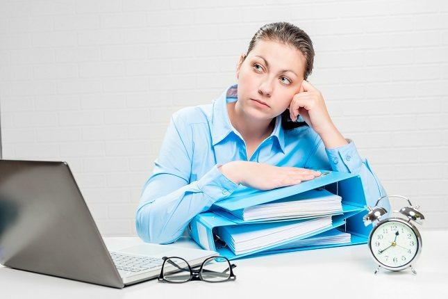 El estrés crónico también puede afectar al aspecto psicológico de la persona