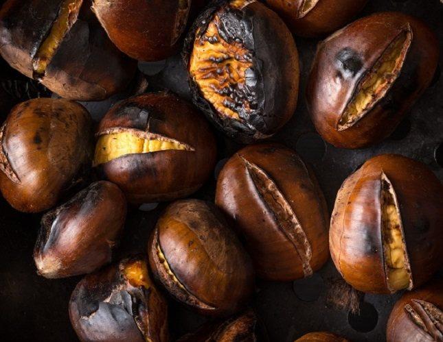 Las castañas son sin lugar a dudas el alimento estrella de los meses de otoño e invierno