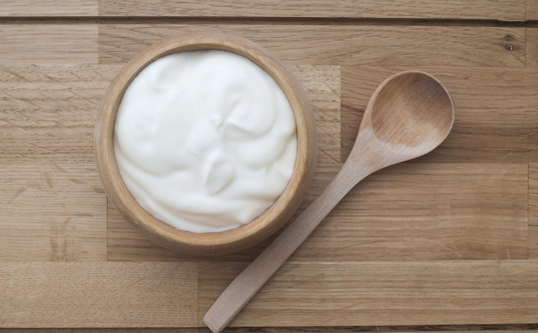 yogur natural para candida