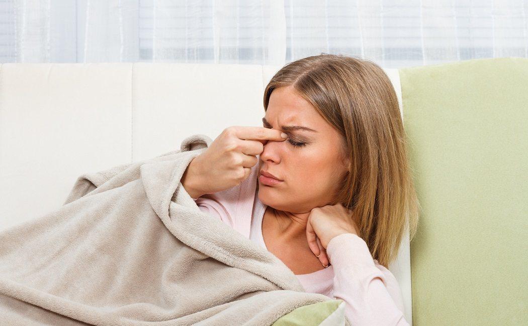 infección ocular por infección sinusal