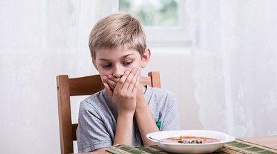Los vómitos en los niños pequeños