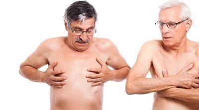 Bulto mamario en un hombre, ¿es posible?